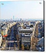 France Montmartre Paris Acrylic Print
