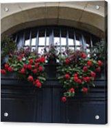 France, Paris, Flower Bouquet Hanging Acrylic Print