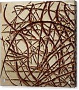 Frances - Tile Acrylic Print