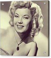 Frances Langford, Vintage Actress Acrylic Print