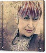 Francesca Acrylic Print
