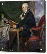 Francis Hopkinson Acrylic Print