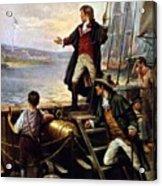 Francis Scott Key, 1779-1843 Awakes Acrylic Print by Everett