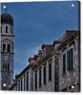 Franciscan Monastery Tower - Dubrovnik Acrylic Print