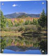 Franconia Autumn Reflections Acrylic Print