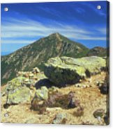 Franconia Ridge And Mount Lafayette Alpine Acrylic Print