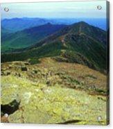 Franconia Ridge Trail Acrylic Print