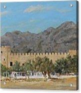 Frangokastello Castle - Southern Crete Acrylic Print