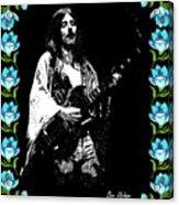 Frank Marino Of Mahogany Rush 4-14-78 Acrylic Print