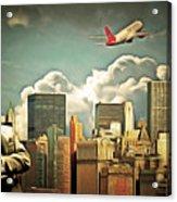 Frank Sinatra Fly Me To The Moon New York 20170506 V3 Acrylic Print