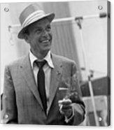 Frank Sinatra In Studio  Acrylic Print