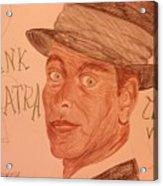 Frank Sinatra - The Voice Acrylic Print