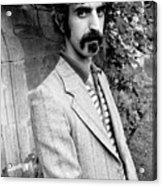 Frank Zappa 1970 Acrylic Print by Chris Walter