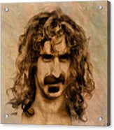 Frank Zappa Collection - 1 Acrylic Print