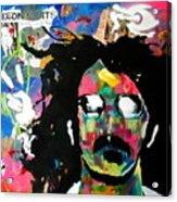 Frank Zappa Pop Art Acrylic Print