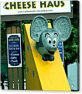 Frankenmuth Cheese Haus Mouse  Acrylic Print