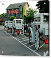 Frankenmuth Michigan Carriages At The Mill Acrylic Print