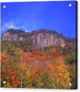Frankenstein Cliffs Crawford Notch Acrylic Print