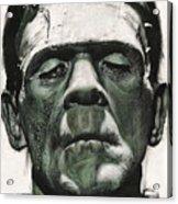 Frankenstein Portrait Acrylic Print