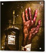 Frankenstein Transplant Experiment Acrylic Print