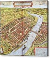 Frankfurt, Germany, 1572 Acrylic Print