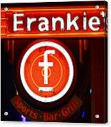 Frankie's Fort Worth Acrylic Print