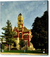 Franklin County Courthouse - Hampton Iowa Acrylic Print