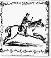 Franklin: Post Rider, 1775 Acrylic Print