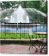 Franklin Square Acrylic Print