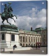 Franz Joseph Equestrian Statue Acrylic Print