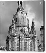 Frauenkirche Dresden - Church Of Our Lady Acrylic Print by Christine Till