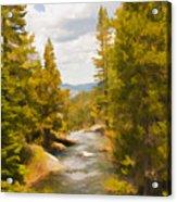 Frazier Creek Acrylic Print