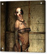 Freaks - The Second Girl In The Basment Acrylic Print