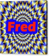 Fred Acrylic Print