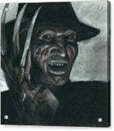 Freddy Krueger Acrylic Print