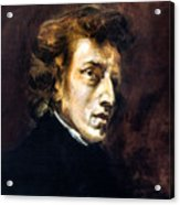 Frederic Chopin Acrylic Print by Granger