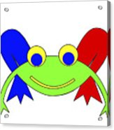 Frederic The Frog Acrylic Print