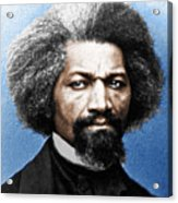 Frederick Douglass Painting In Color  Acrylic Print