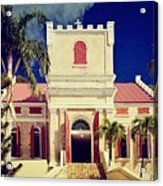 Frederick Lutheran Church In St. Thomas Acrylic Print