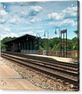 Fredericksburg Rail Station Acrylic Print