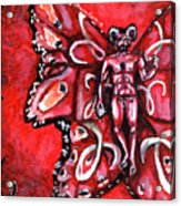 Free As An Aries Acrylic Print