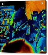 Free Bird Pastel Oakland 1 Acrylic Print