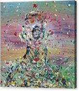 Free Improvisation #4 -saint- Acrylic Print