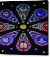 Free Masons Acrylic Print
