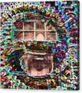 Free Speech Acrylic Print by Jonathan Shaps