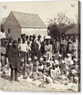 Freed Slaves, 1862 Acrylic Print by Granger