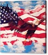 Freedom Eagle Acrylic Print