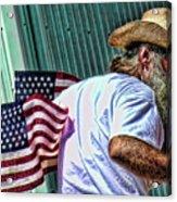 Freedom Man Acrylic Print