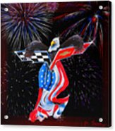 Freedom Acrylic Print by Patricia Stalter