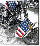 Freedom Rider Acrylic Print